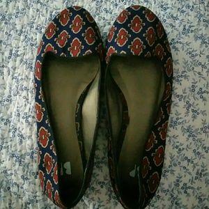 BP shoe flats
